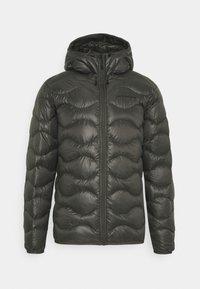 Peak Performance - HELIUM HOOD JACKET - Down jacket - black olive - 0