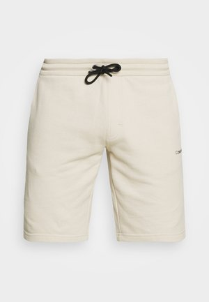 SMALL LOGO - Shorts - beige