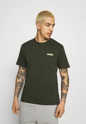BOX TEE - T-shirt imprimé - olive green