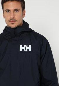 Helly Hansen - ACTIVE JACKET - Regnjakke / vandafvisende jakker - navy - 5