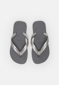 Havaianas - TOP TIRAS - Pool shoes - steel grey - 3