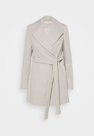 WRAP COAT - Abrigo - grey