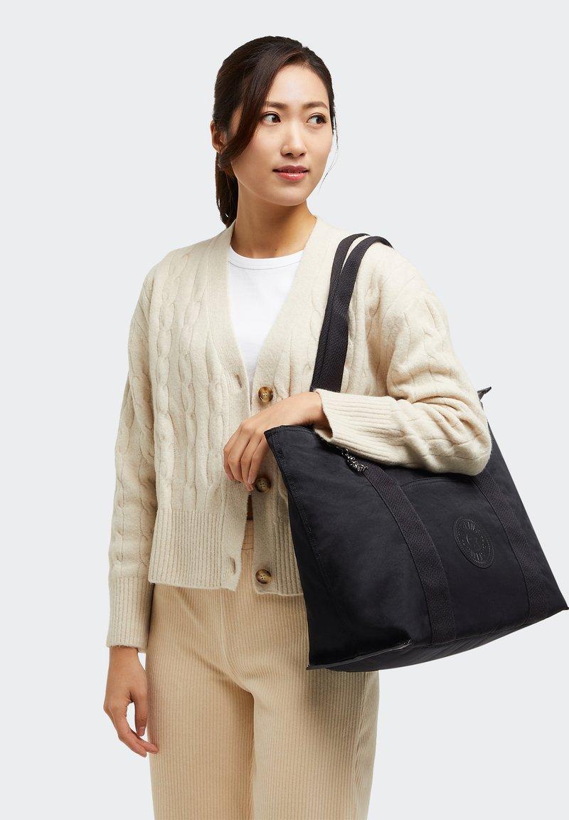 Kipling - ERA M - Tote bag - rich black