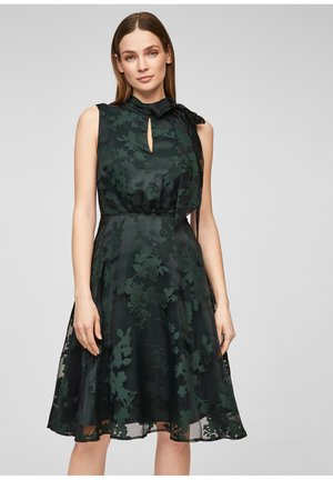 Cocktail dress / Party dress - dark green