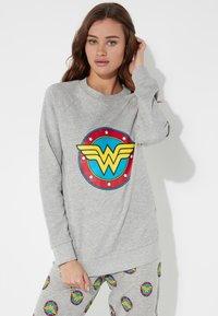 Tezenis - Sweatshirt - grigio mel.chiaro st.logo wond - 0