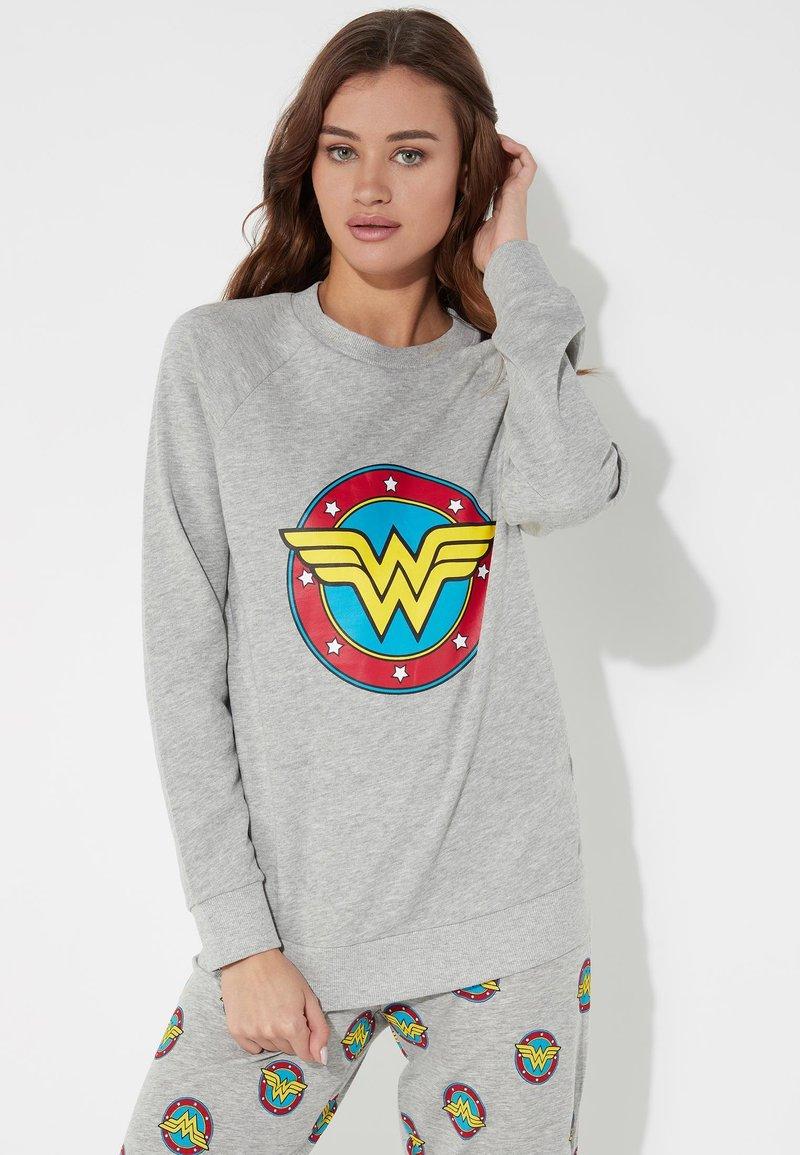 Tezenis - Sweatshirt - grigio mel.chiaro st.logo wond
