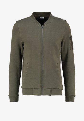 veste en sweat zippée