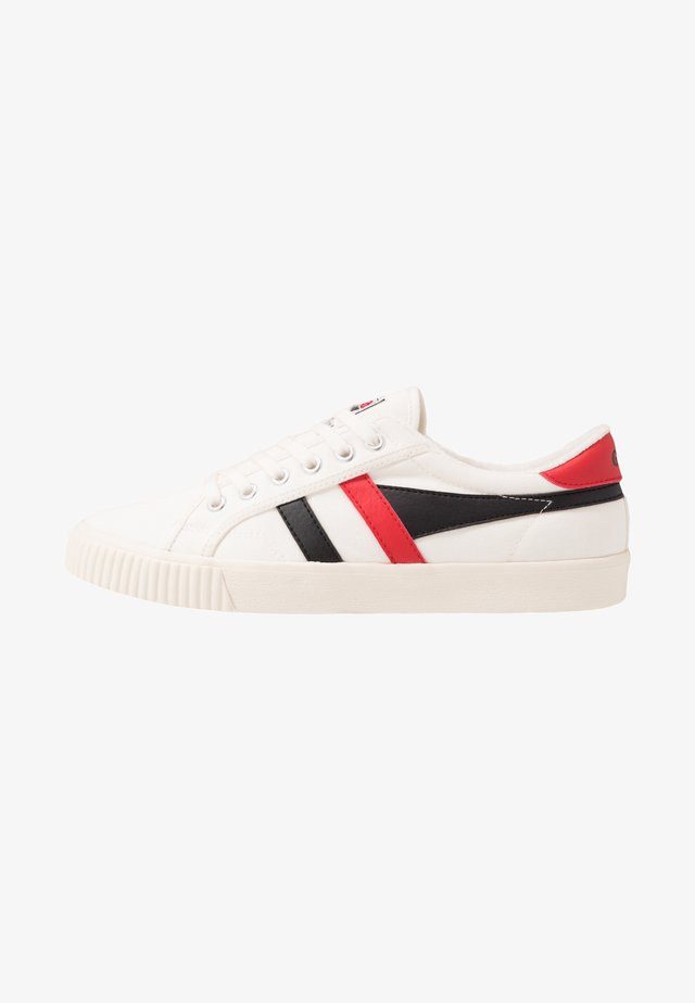 TENNIS MARK COX VEGAN - Sneakersy niskie - offwhite/black/red