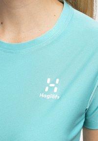 Haglöfs - L.I.M TECH TEE - Print T-shirt - glacier green - 3