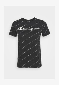 Champion - CREWNECK LEGACY - Print T-shirt - black - 3