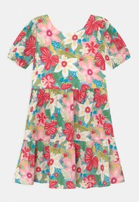 Chi Chi Girls - GIRLS PUFF SLEEVE FLORAL PRINT TIERED DAY DRESS - Denní šaty - multi-coloured - 0