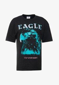 EAGLE TEE - Print T-shirt - black