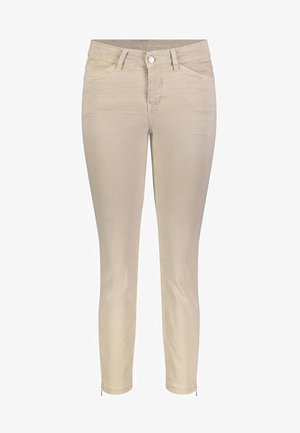Jeans slim fit -  beige