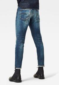 G-Star - 3301 SLIM - Slim fit jeans - antic faded baum blue - 1