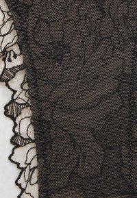 Women Secret - NEW EMBO  - Thong - black - 2
