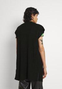 ONLY - ONLNICOYA - Waistcoat - black - 2