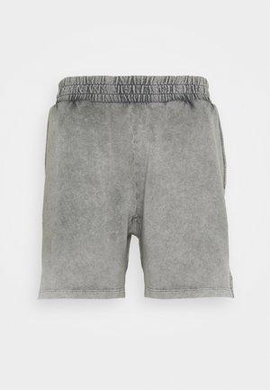 LOUNGE ACID WASHED SHORTS - Pyjama bottoms - black
