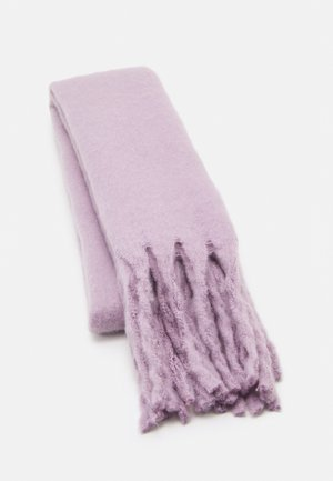 SCARF BIG FRINGE - Sjaal - light lilac