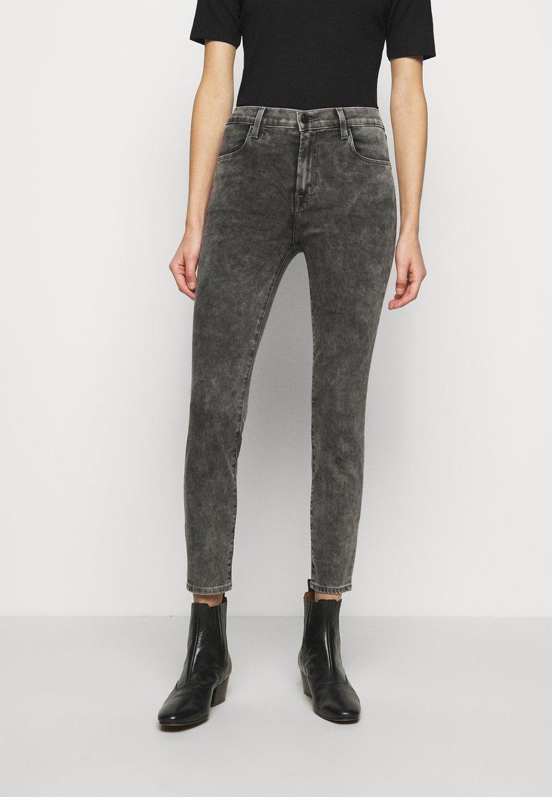 J Brand - ALANA HIGH RISE CROP SKINNY - Skinny džíny - radical