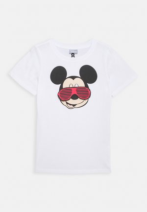 DISNEY MICKEY SHORT SLEEVE LICENSE TEE - Print T-shirt - white
