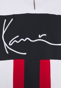 Karl Kani - SIGNATURE BLOCK TROYER UNISEX - Sweatshirt - red - 6