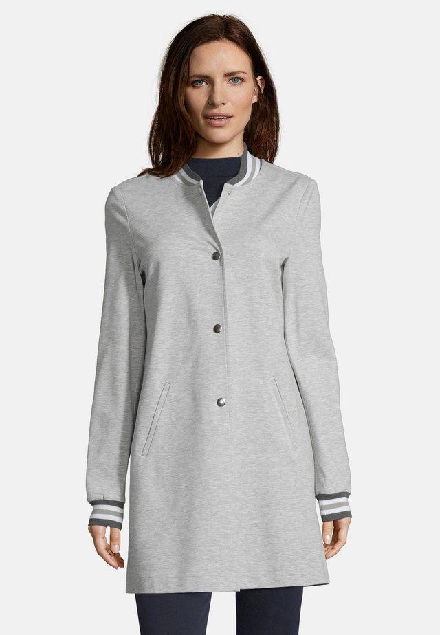 Korte jassen - light grey melange