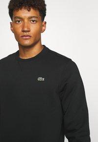 Lacoste Sport - CLASSIC - Sweatshirt - black - 4