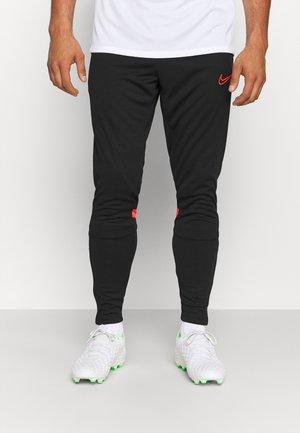 ACADEMY PANT - Pantaloni sportivi - black/bright crimson
