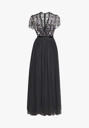 PRARIE FLORA BODICE MAXI DRESS - Occasion wear - graphite