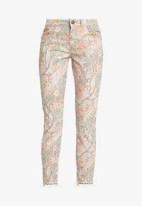 Mos Mosh - SUMNER RIO PANT - Slim fit jeans - rose flower - 4