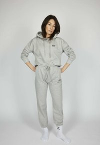 one more story - ICON - Tracksuit bottoms - silver grey melange - 0