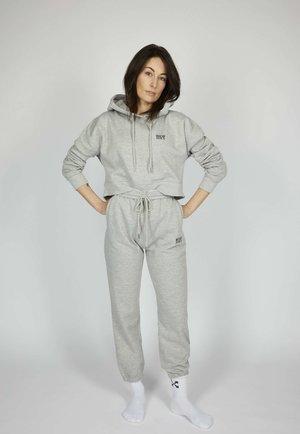 ICON - Pantalones deportivos - silver grey melange