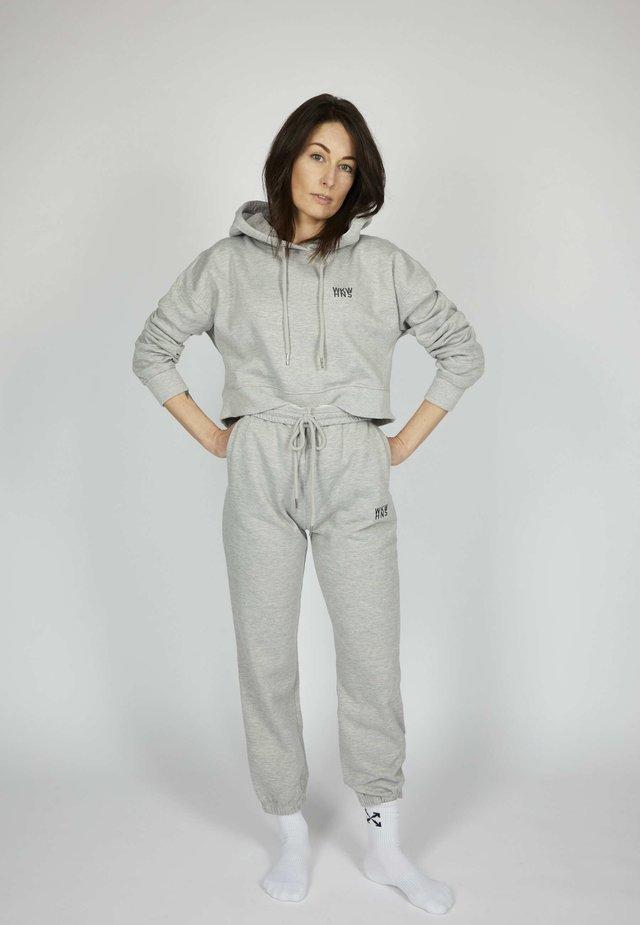 ICON - Verryttelyhousut - silver grey melange