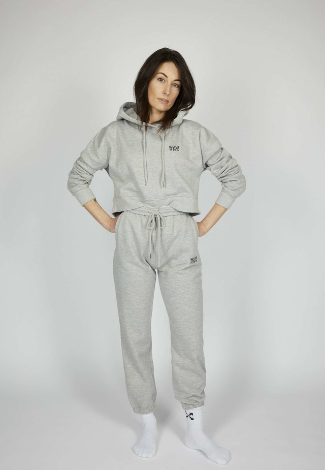 ICON - Trainingsbroek - silver grey melange