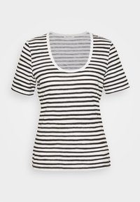 Marc O'Polo - SHORT SLEEVE ROUND NECK STRIPED - Print T-shirt - multi/black - 3