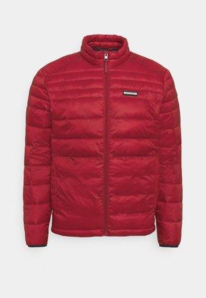 Light jacket - red dahlia