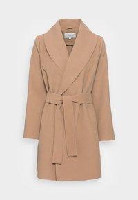 VILA PETITE - VIAPPLE NEW COAT - Classic coat - tigers eye - 3