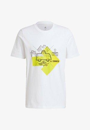 TRAVEL GRAPHIC T-SHIRT - Print T-shirt - white