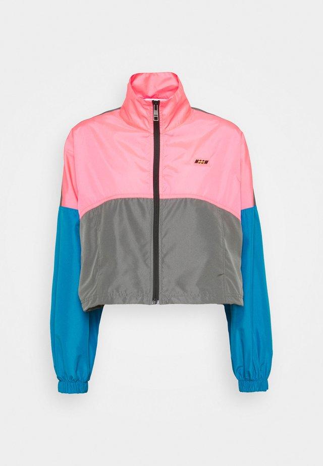 GIUBBINO - Veste de survêtement - fluo pink