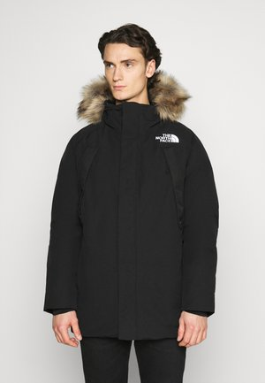 NEW OUTERBOROUGHS JACKET - Płaszcz puchowy - black