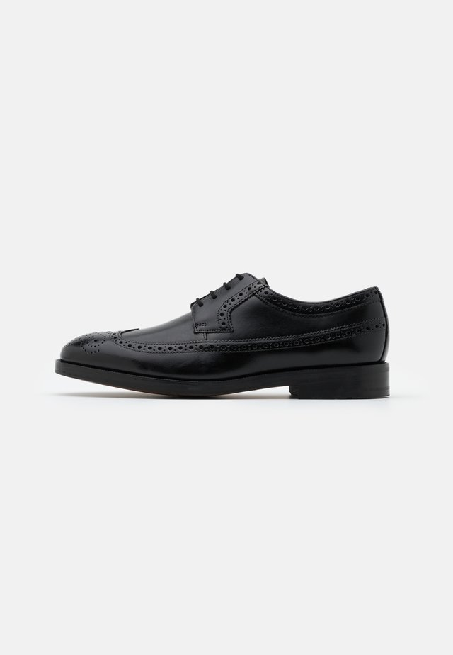 OLIVER WING - Smart lace-ups - black