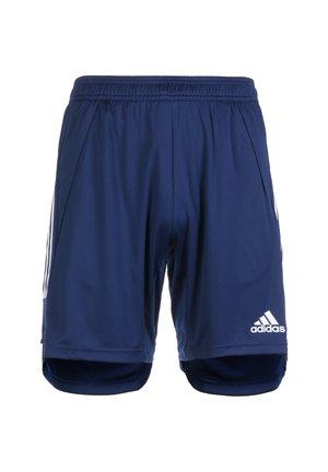 CONDIVO 20 TRAINING SHORTS - Pantalón corto de deporte - navy blue / white
