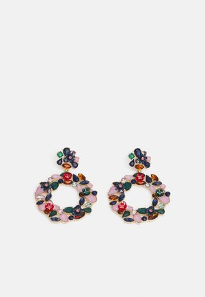 PCPEJA EARRINGS - Øredobber - gold-coloured/multi