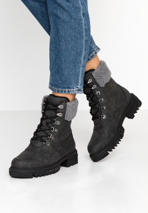 VMAINA BOOT - Šněrovací kotníkové boty - black