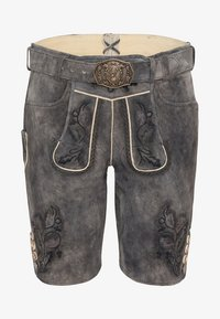 Spieth & Wensky - MARVIN - Leather trousers - grey - 5