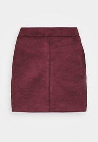 VMDONNADINA SHORT SKIRT PETITE - Mini skirt - port royale