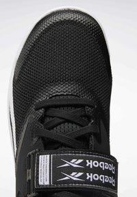 Reebok - LIFTER PR II - Sports shoes - black/white/chartr - 9