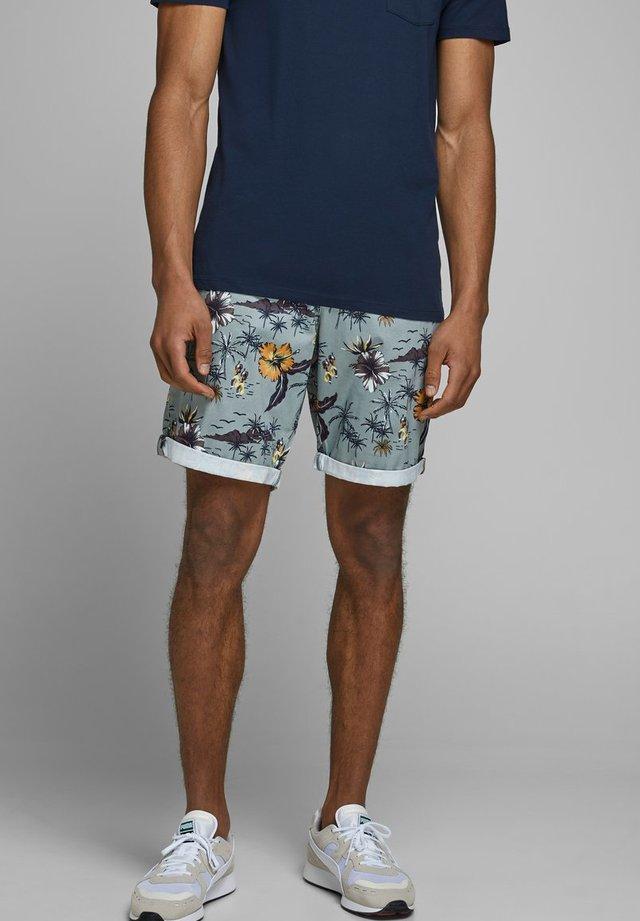JJIBOWIE  - Shorts - silver blue