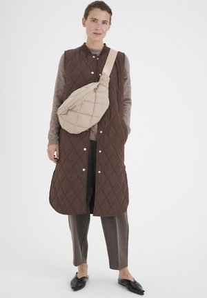 CALLASIW QUILTED - Veste - coffee brown