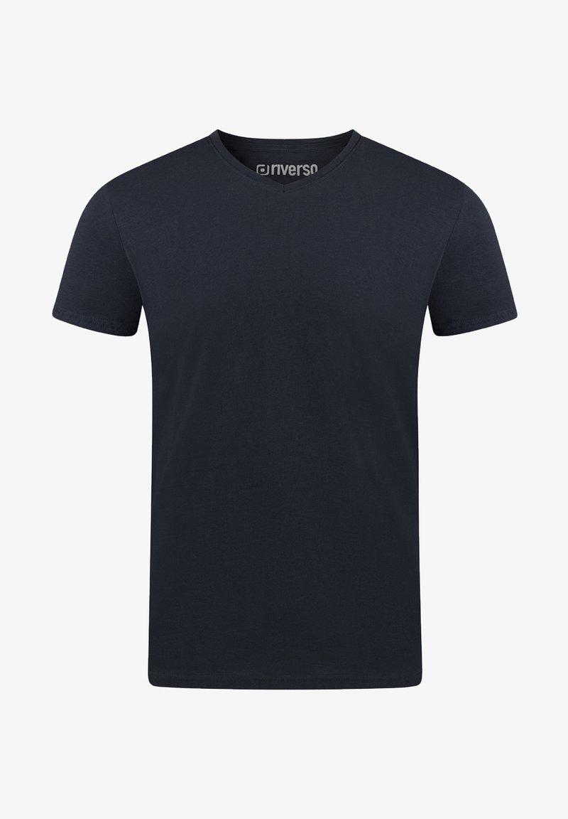 Riverso - Basic T-shirt - dark blue